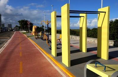 Para  MPF  obras da Orla Sul cumprem decisão que proíbe veículos na areia das praia