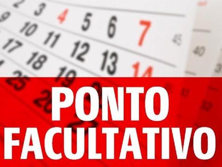 Estado e prefeitura de Aracaju decretam  ponto facultativo  na próxima segunda, 11