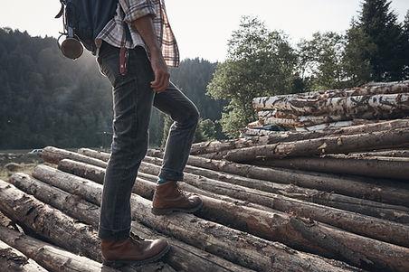 Frische Füße mit Zirbenholzeinlagen.