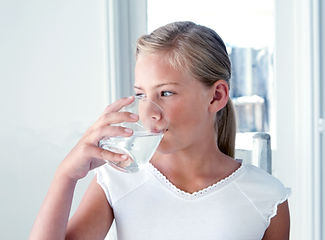 Drinking water is good for you, cleanses and heals
