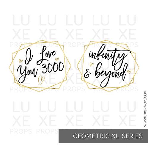 Geometric XL: I Love You 3000 - Infinity & Beyond