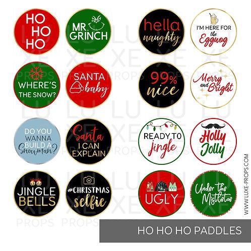 Ho Ho Ho Paddles