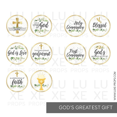 God's Greatest Gift Paddles