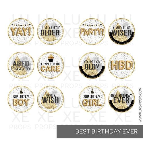 Best Birthday Ever Paddles