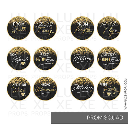 Prom Squad Paddles