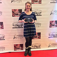 Brittani O'Connell Arts for Life Award BPA