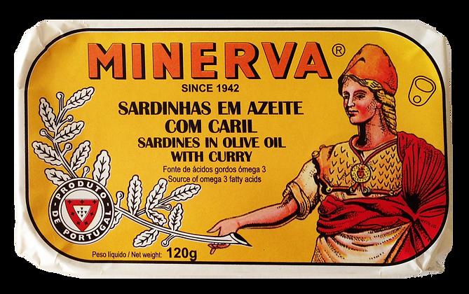 Sardinen in Olivenöl mit Curry 120 g