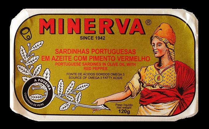 Sardinen in Olivenöl mit roter Paprika 120 g