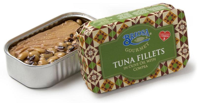 Thunfischfilets mit Bohnen in Olivenöl 120 g