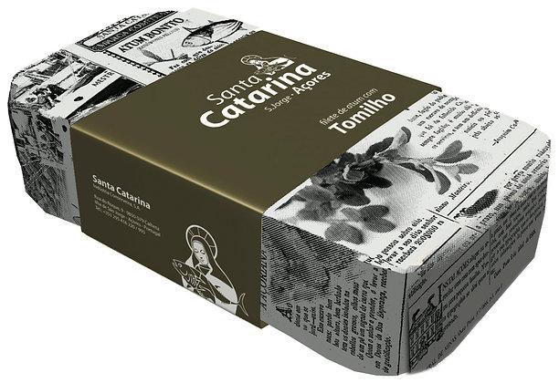 Thunfischfilets in Olivenöl mit Thymian 120 g
