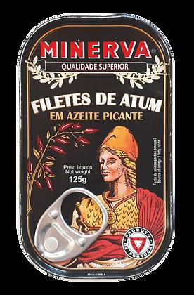 Thunfischfilets in scharfem Olivenöl 120 g