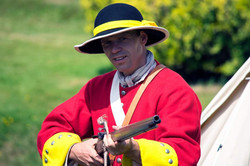 Royalist soldier during the Monmouth Rebellion