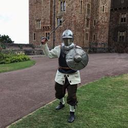 1588 sword and buckler man