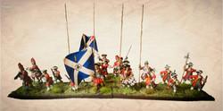 Sedgemoor diorama for the Monmouth Rebellion