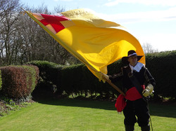 Ensign of the English Civil war
