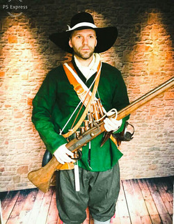 A musketeer of the English Civil War