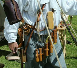 1685 soldier carrying a lot of kit
