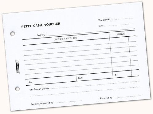 Petty Cash Voucher A5