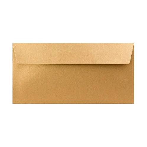 DL Brown Peel & Seal Envelopes - 50 Pcs