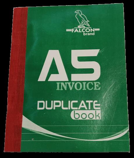 A5 Invoice Duplicate Book
