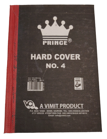 A6 Hard Cover Exercise Book