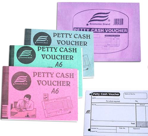 Petty Cash Voucher A6