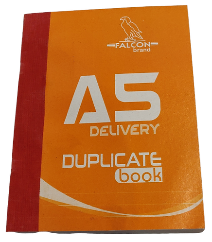 A5 Delivery Duplicate Book