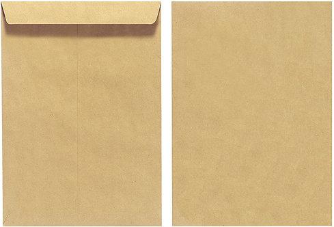 B5 Brown Envelope Peel and Seal - 50 Pcs