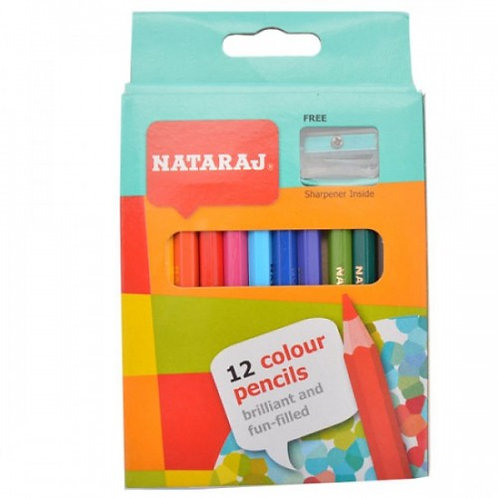 Nataraj Small Size Colour Pencils