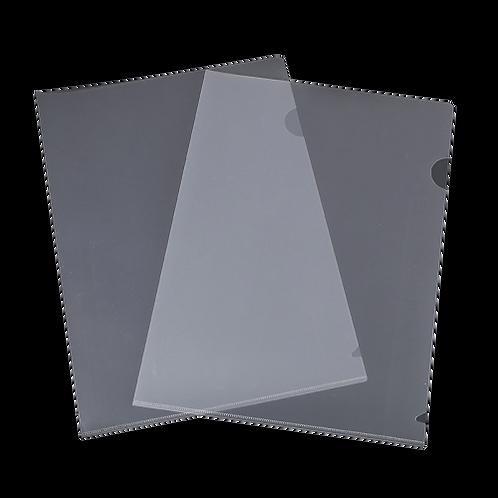 L-Shape Clear Folder