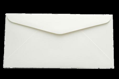 DL White Envelope - 50 Pcs