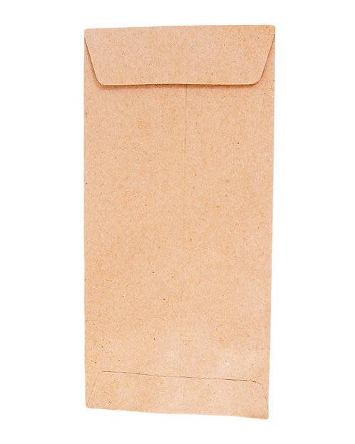 DL Brown Pocket Envelope - 50 Pcs