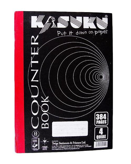 Counter Book 4 Quire