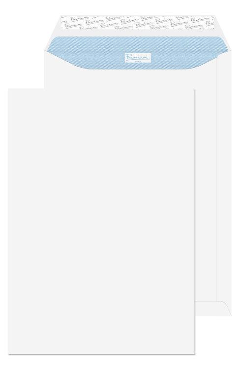 C4 White Envelope Peel & Seal - 50 Pcs