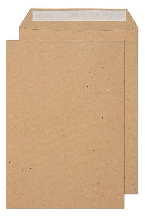 C4 Brown Envelope Peel and Seal - 50 Pcs