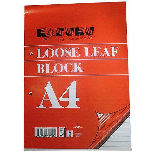 Kasuku Loose Leaf Pad