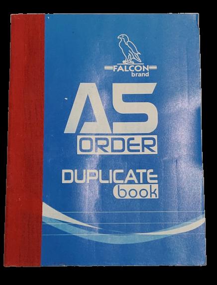 A5 Order Duplicate Book