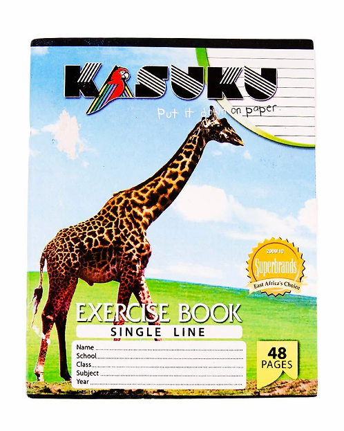 A4 Exercise Book Single Line 48 Pgs