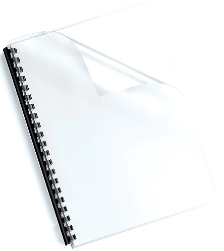 A4 Clear Binding Cover Ream