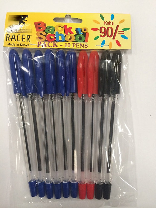 Racer Back To School Pack
