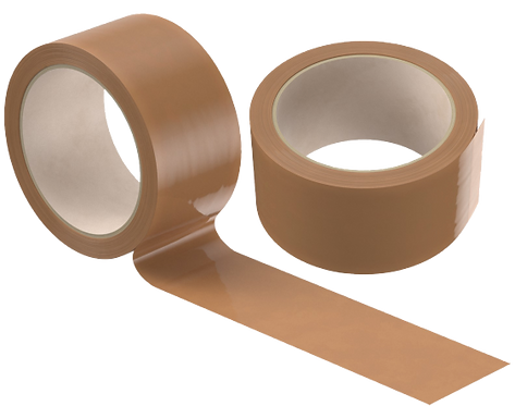 Brown Packaging Tape - 100 Mtrs