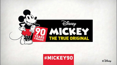 Disney Mickey 90 Year Anniversary