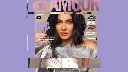 Glamour Magazine Kylie Jenner social osts