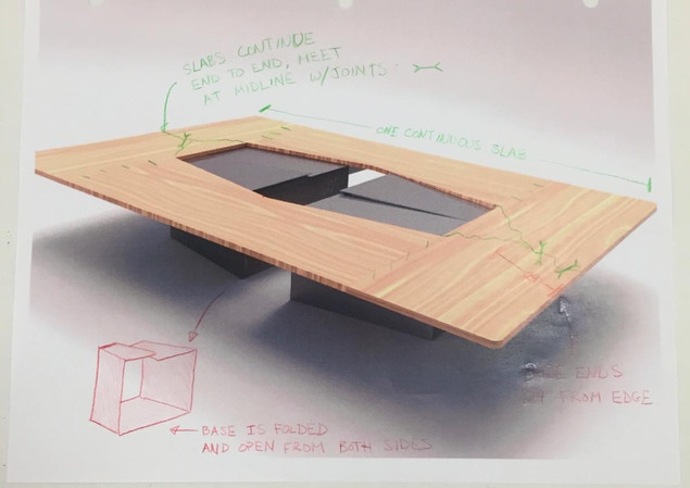 Concepting Custom Table
