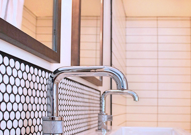Residential Double Bathroom