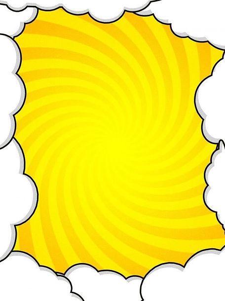Pura Atmosfera Amarela Nuvem Pop Fundo.j