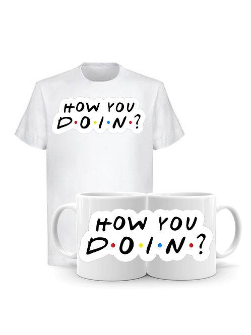 Комплект Тениска и Чаша HYDoin