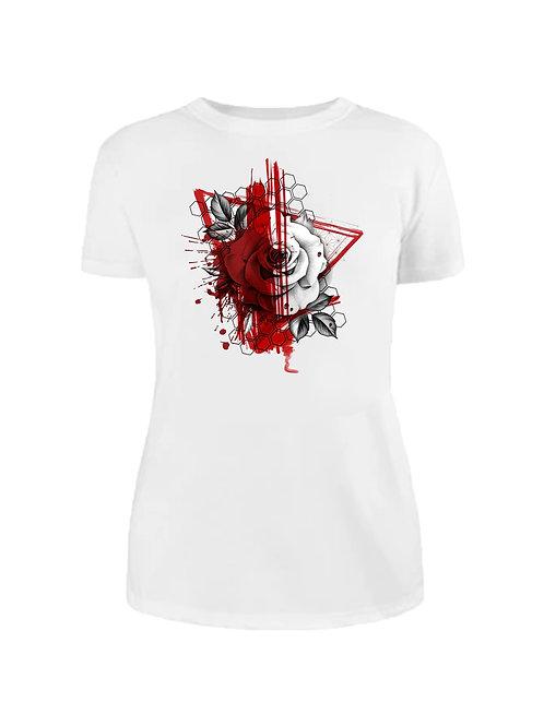 Тениска Red Trash Rose