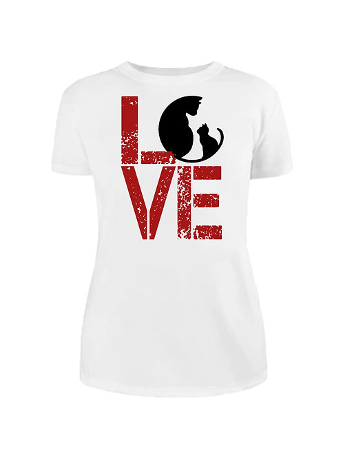 Тениска Love Cats