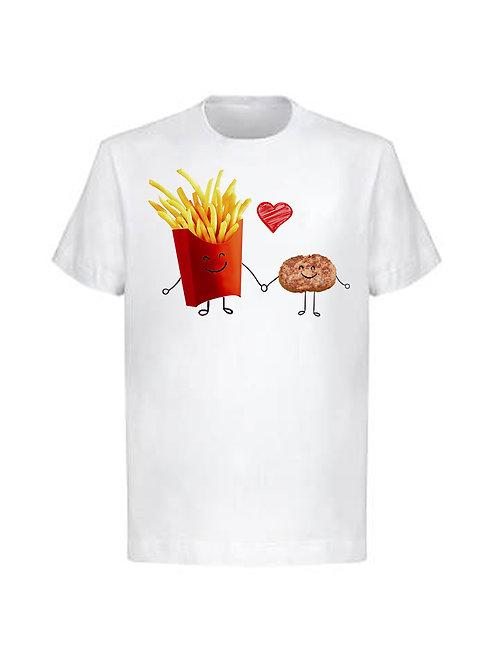 Тениска Кюфте+Картофи=ВНЛ